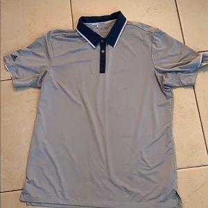 Adidas collared golf shirt